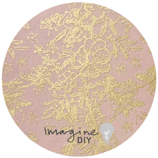 blush and gold lustre paper. Decorative paper in blush pink with a metallic gold pattern. DIY wedding stationery and craft supplies. Pretty paper for decorating wedding invitations.