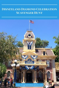 Disneyland Diamond Celebration Scavenger Hunt