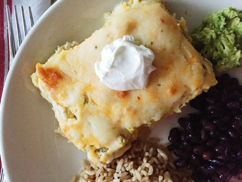Easy and delicious chicken enchiladas recipe