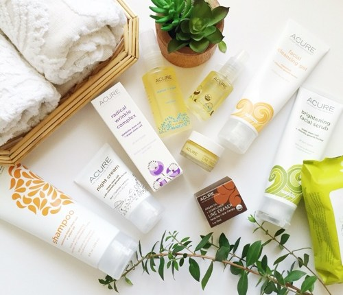 Acure Organics: My New Favorite Products