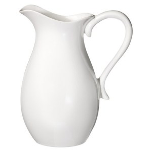 White Porcelain Pitcher Image
