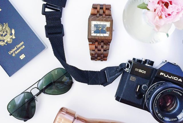 Men's travel must-haves + Jord Wood Watch Giveaway