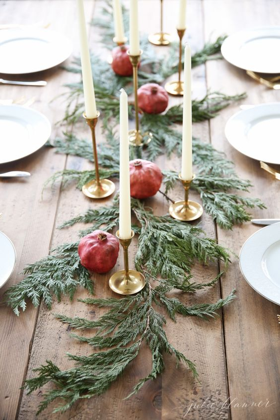 Beautiful and Inspiring Holiday and Christmas Table Setting Ideas