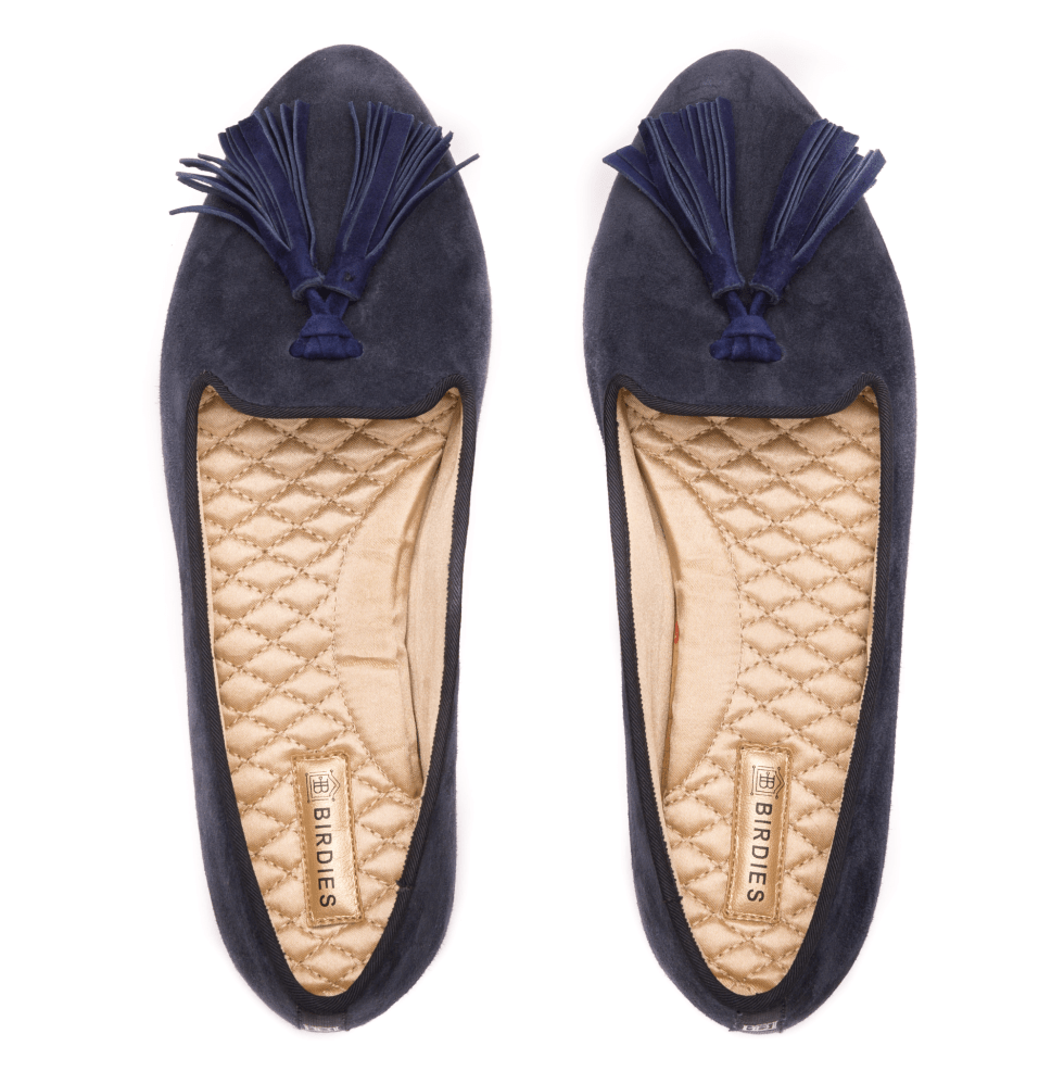 Celebrate Mom with Stylish Mother's Day Gift Ideas-Birdies-slippers-bluebird-tassels