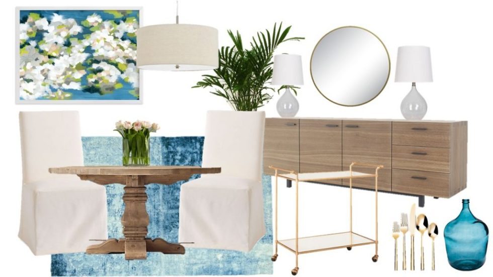 Mood Board Monday A Coastal Inspired Dining Room