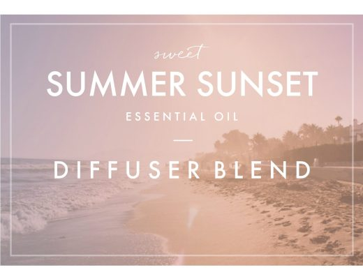 Sweet Summer Sunset Essential Oil Diffuser Blend