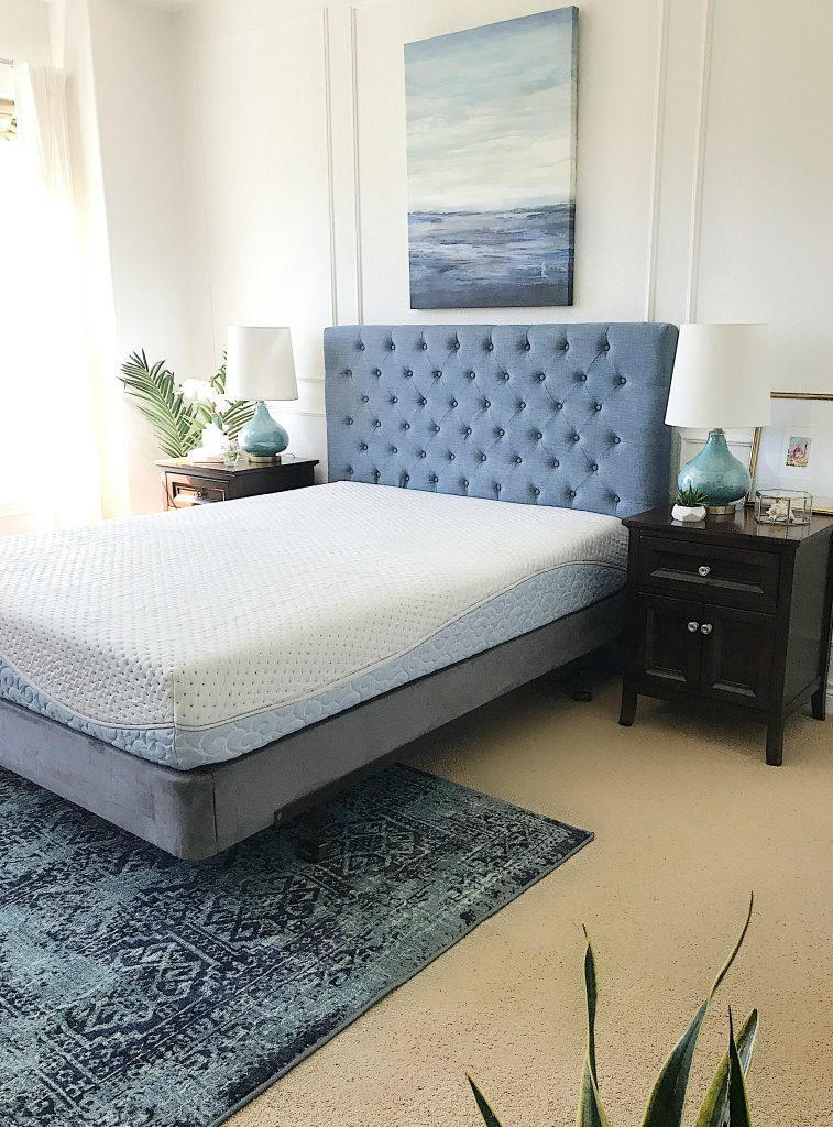 Master bedroom updates + a review of our new Agility mattress (and a Giveaway!)