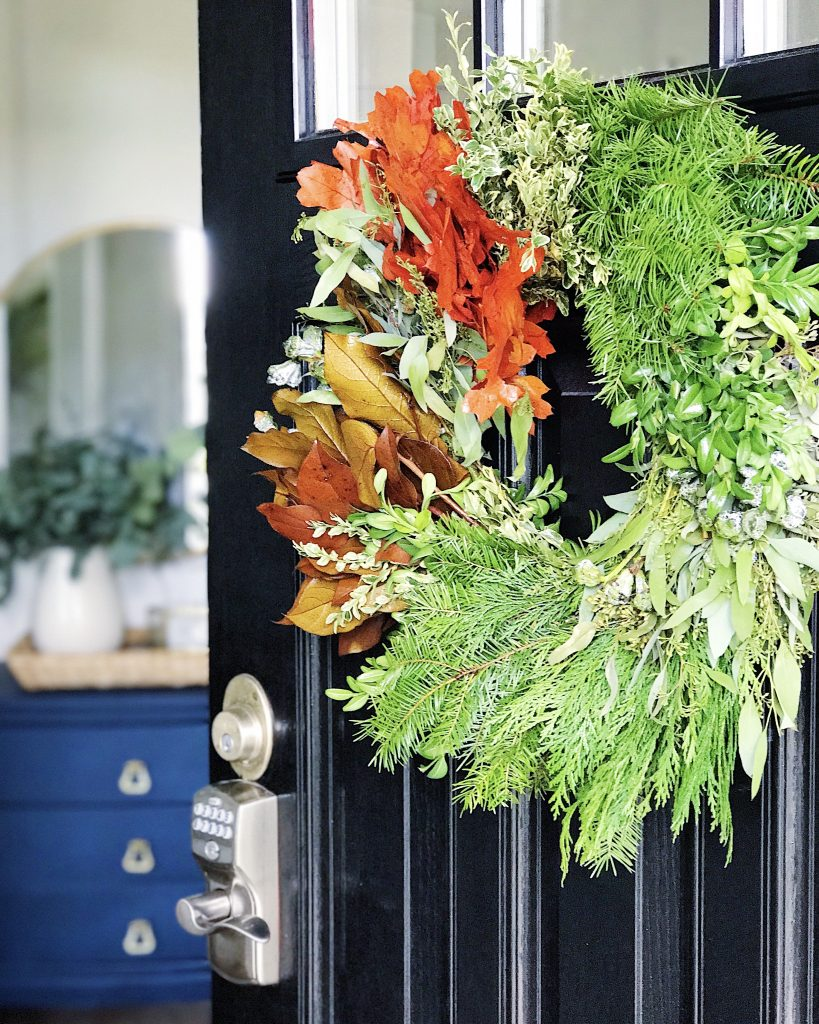 Fall home tour - simple fall decorating ideas to add a modern touch of autumn to your home - Jane at Home