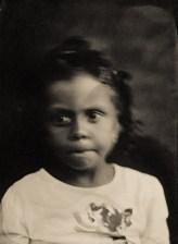 retrato em ambrótipo