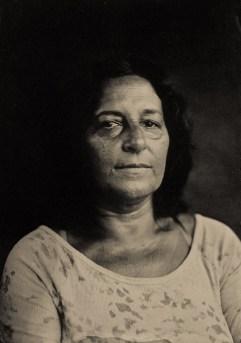 retrato em ambrotipo