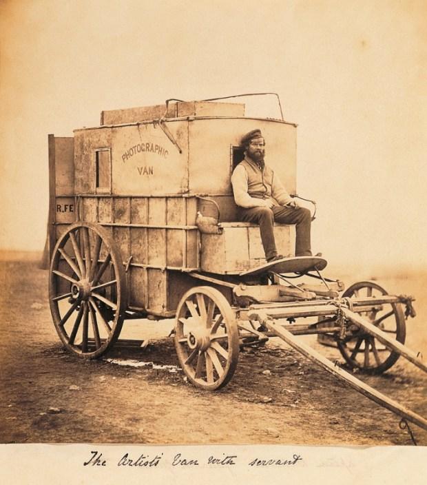 Roger Fenton Photographic Van 1854