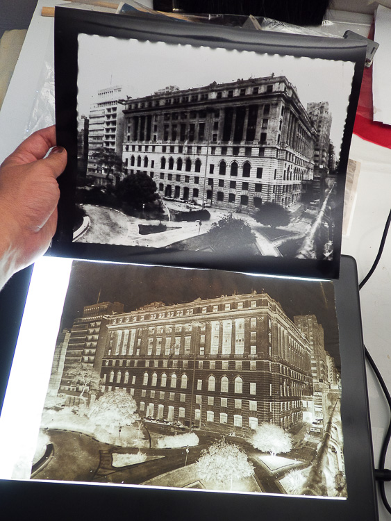 De Lucio Libanori. Cópia em papel fotográfico e calótipo.