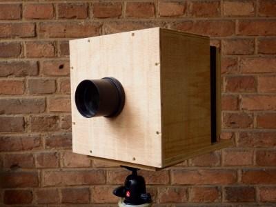 Câmera Oca – Uma grande formato de montar