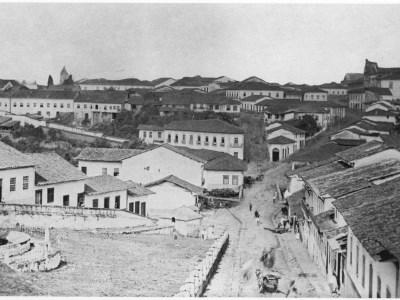 Cidade de São Paulo (Vista tirada do Paredão do Piques) 1862-2017 – Militão