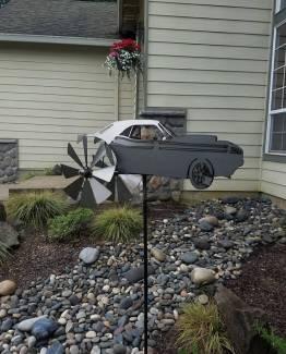 wind spinner garden yard