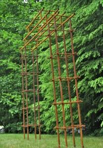 Steel Metal Garden Arbor Beautiful