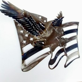 American Torched Metal art