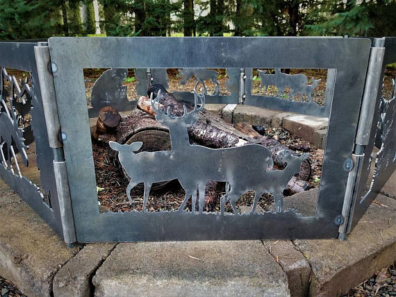 Tree Fire Pit