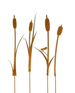 dragon fly gift set with cattail