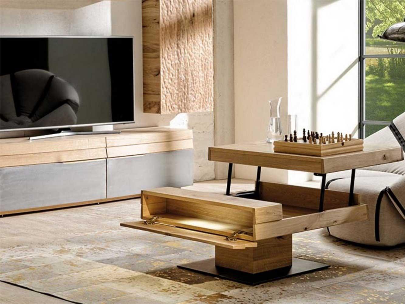 organo coffee table square
