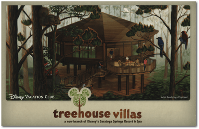 Disney's Treehouse Villas, Then and Now