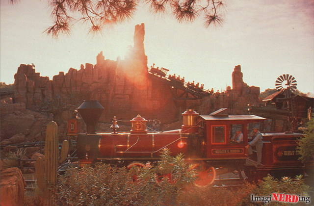 walt disney world railroad big thunder mountain railroad