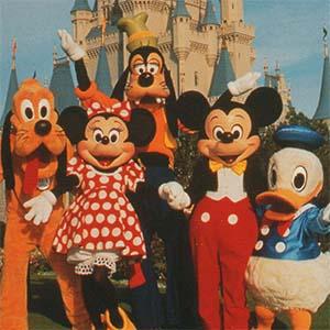 friends forever Disney postcard