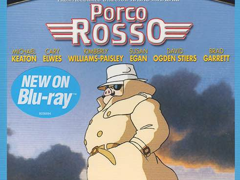 New Studio Ghibli Blu-ray Release: Porco Rosso, Tales From Earthsea and Pom Poko