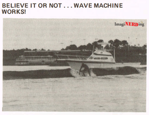walt disney world wave machine