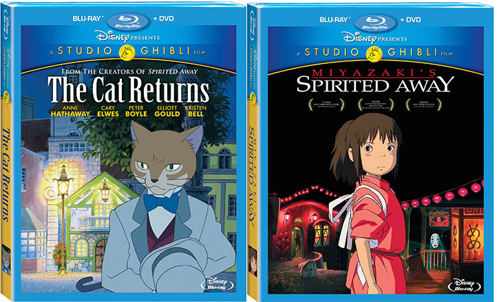 George and Jeff Review The Cat Returns and Spirited Away on Blu-ray