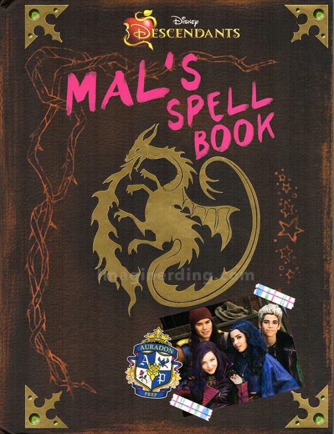 Disney Descendants Mal's Spell Book byTina McLeef disney books