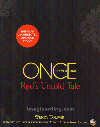 Sesame Place and Disney Books Red's Untold Tale