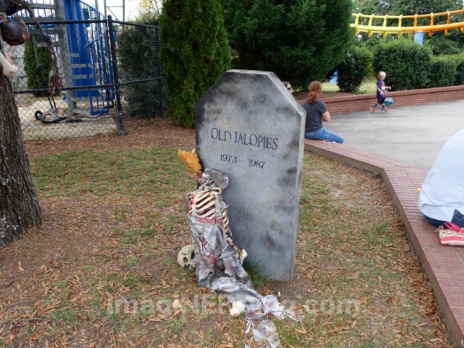Carowinds Attraction Tombstones