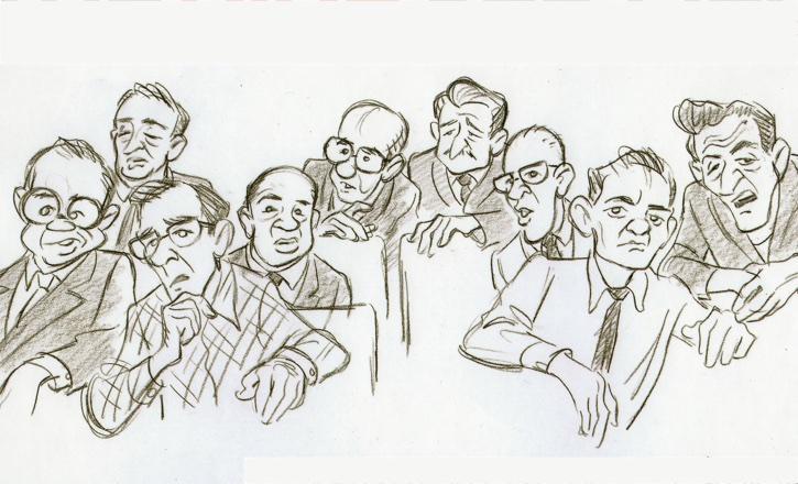 Nine Old Men by Andreas Deja