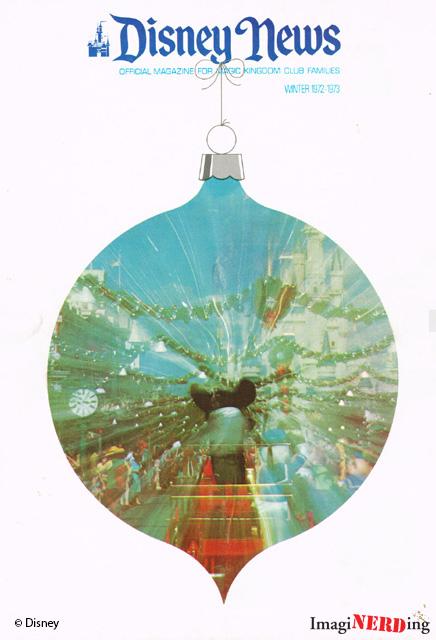 Disney-News-1972 Happy Holidays from Walt Disney World!