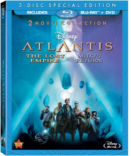 atlantis blu-ray combo