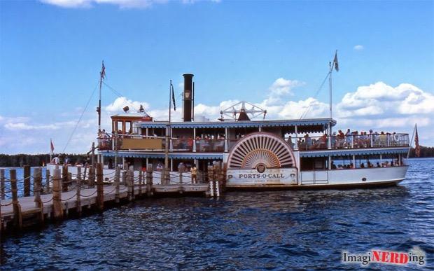 Walt Disney World Cruise Ships: Ports-O-Call docking