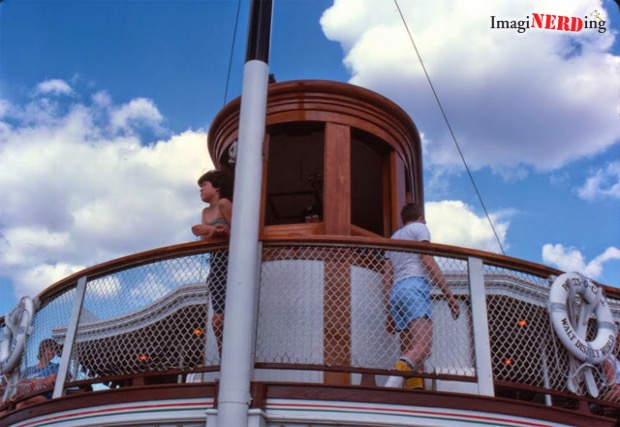 Walt Disney World Cruise Ships: Wheelhouse