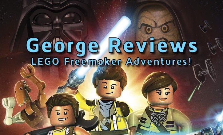 Star Wars LEGO Freemaker Adventures on Blu-ray!