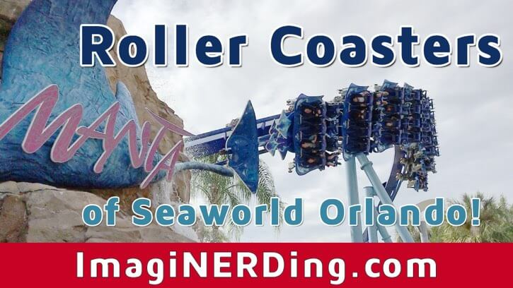 seaworld roller coasters