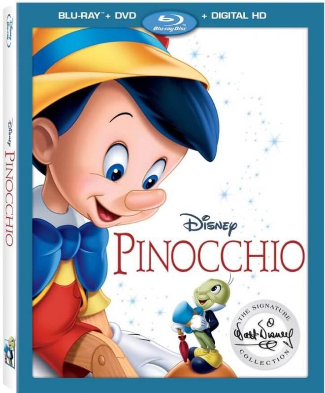 pinocchio on blu-ray