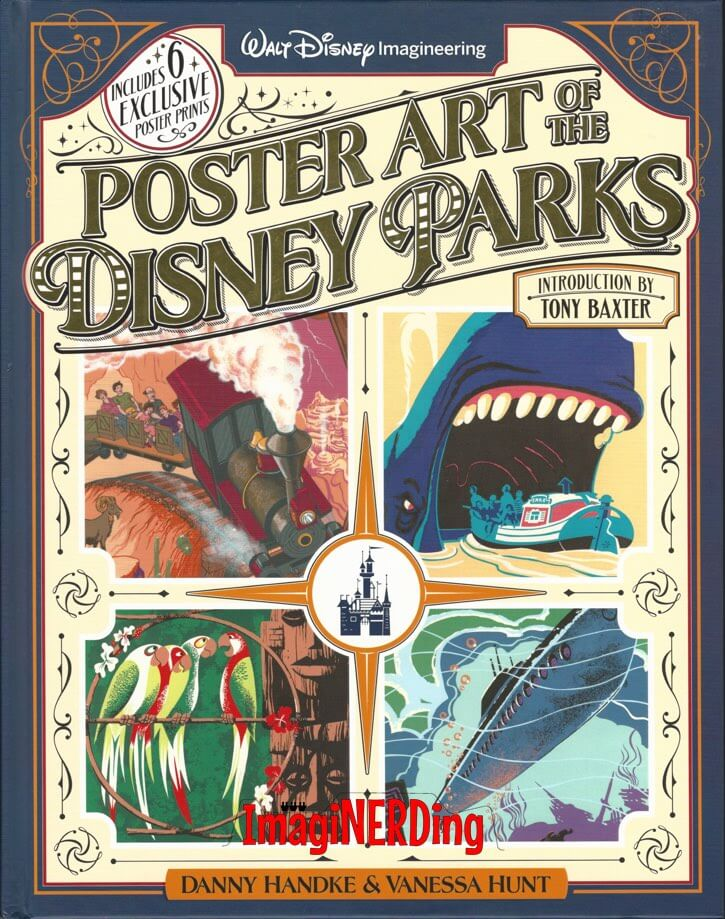 poster art of the disney parks book 2016 costco imaginerding