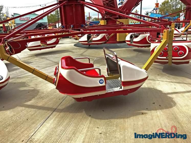 county fair do-si-do ride vehicle at Carowinds
