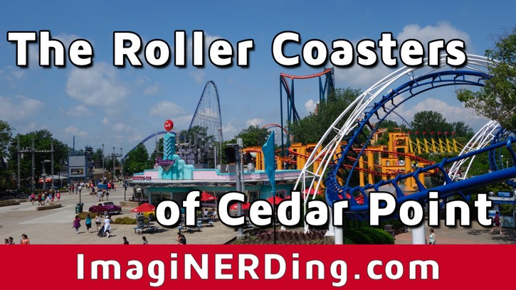 Cedar Point Roller Coasters: From Blue Streak to Valravn