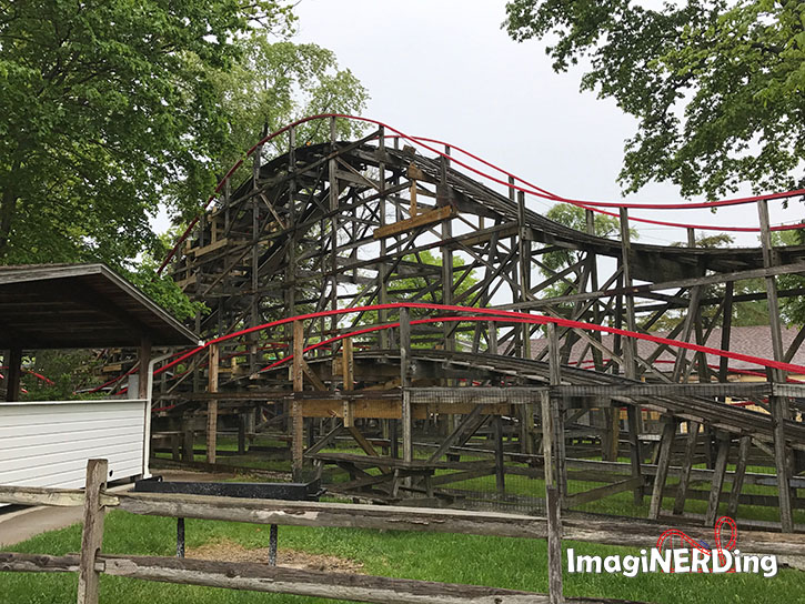waldameer roller coasters the comet