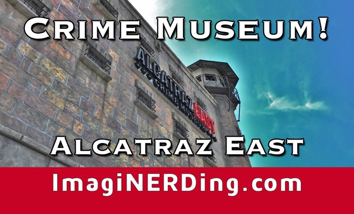 Crime Museum: Alcatraz East at The Island in Pigeon Forge!