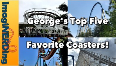 Top 5 Favorite Roller Coasters