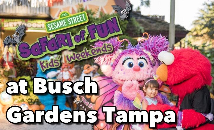 Busch Gardens Tampa Halloween Safari of Fun!