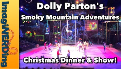 Dolly parton's Smoky mountain Adventures Christmas Dinner & Show