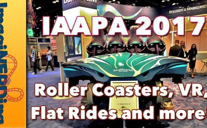 IAAPA 2017 Video:  Amusement Park Rides and Food